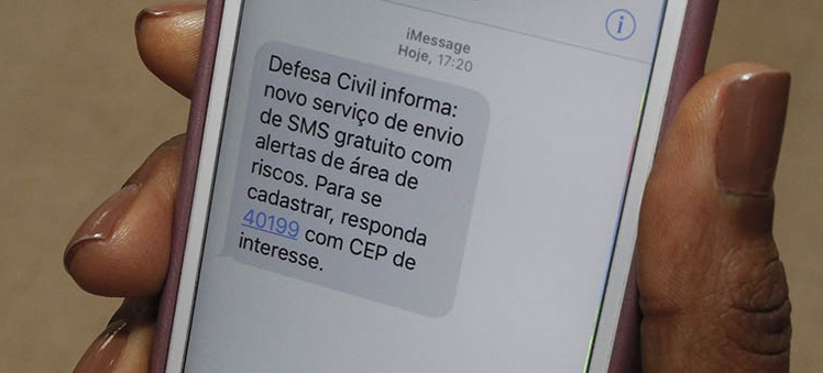 a aviso sms 18