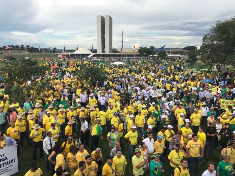 manifesto brasil veerde e amarelo congresso 4 4 aprosoja