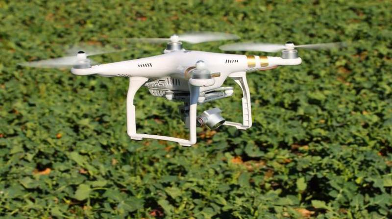 drone embrapa medida certa