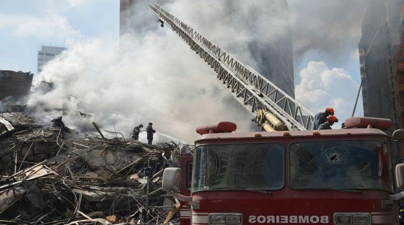 incendio edificio sp
