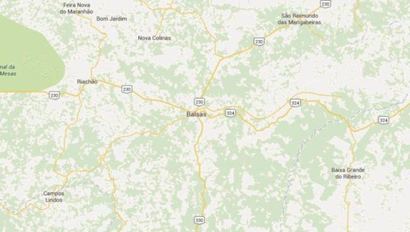 mapa balsas