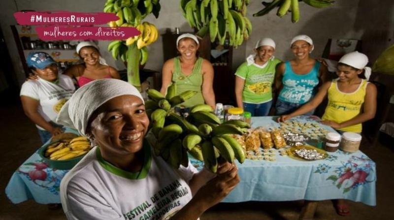 concurso mulheres rurais alimentacao