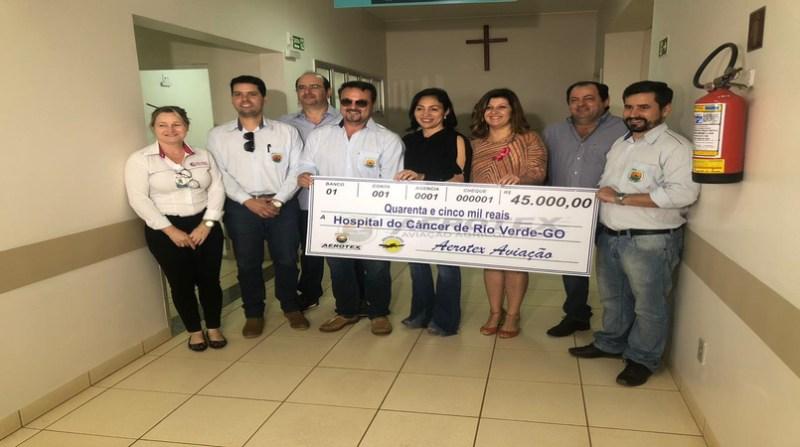 doacao empresa, hospital, Arposoja e produtores