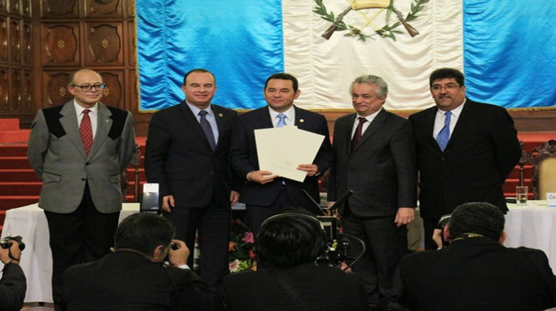 guatemala presidente