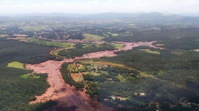 barragem vale brumadinho bombeiros divulgacao