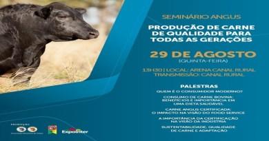 Angus debate produção de carne de qualidade na Expointer