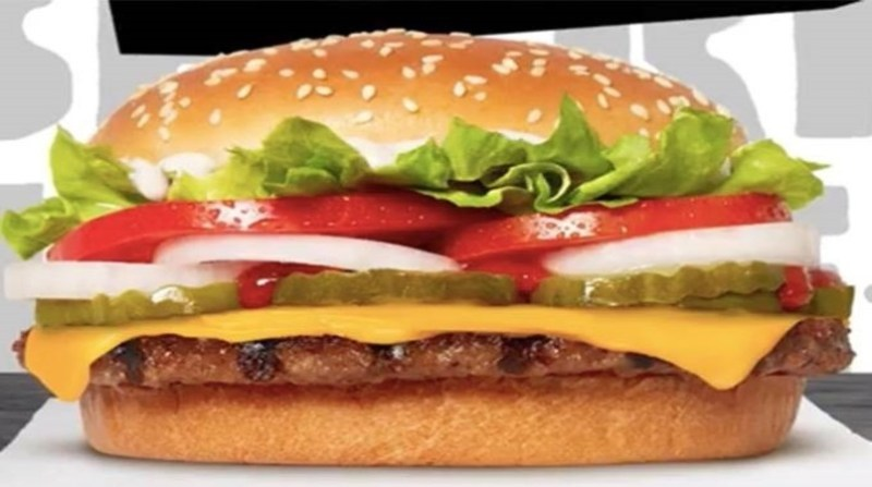 hamburger vegetal foto burger king