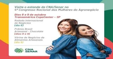 Sistema CNA/Senar promove ações no Congresso das Mulheres do Agro
