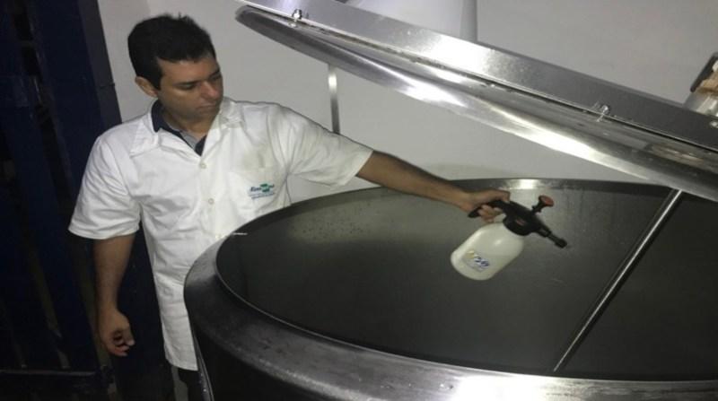 leite tanque de armazenamento de leite cru aline bastos embrapa