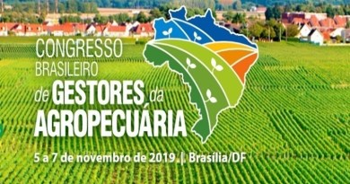 Congresso de Gestores da Agropecuária debate políticas para o setor