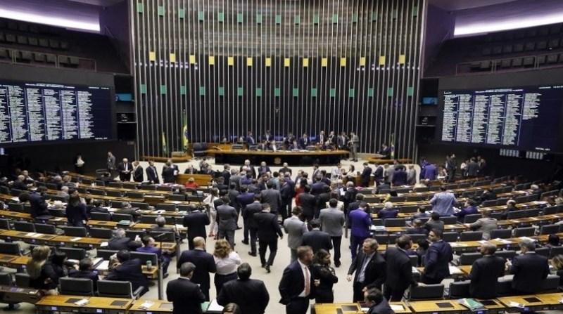 camapa plenário luiis macedo camara dos deputados