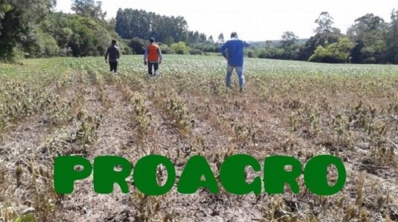 seca rs MC proagro defesa civil rs divulgacao