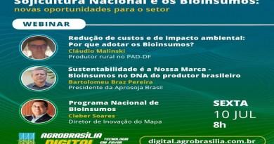 AgroBrasília Digital: Aprosoja Brasil debate Programa Nacional de Bioinsumos