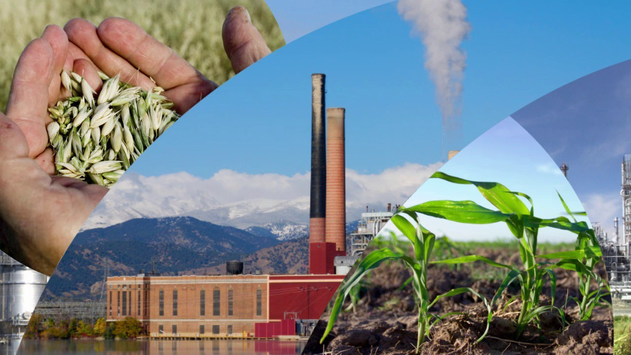 collage of agrology photos