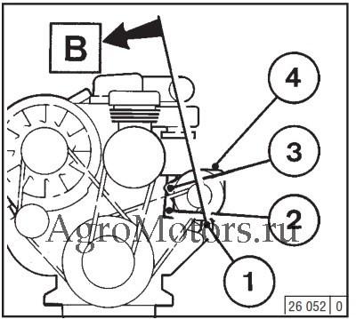 Ремонт и техобслуживание двигателей Deutz 912 и Deutz 913