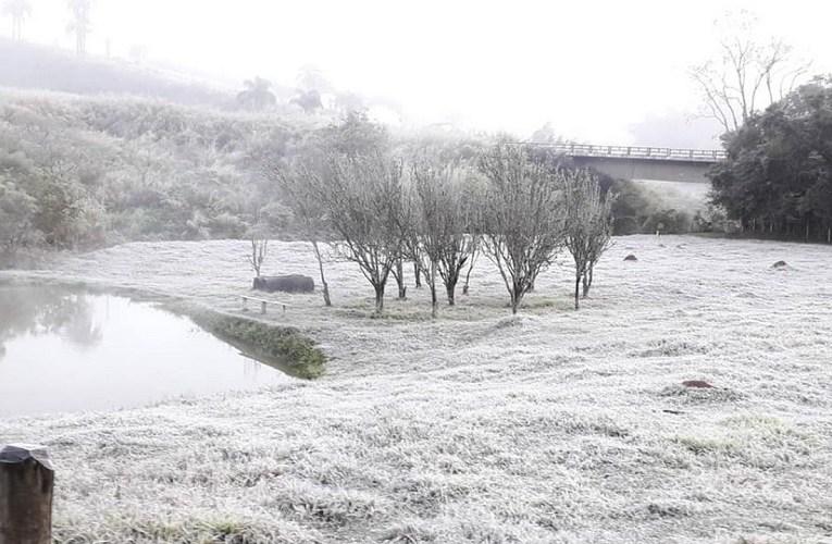 Frio avança e geada pode chegar em áreas do Centro-Oeste