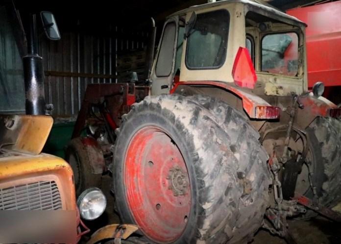 Policjanci złapali złodziei traktorów