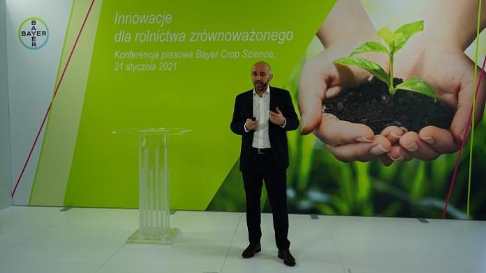Antoine Bernet, Szef działu Crop Science w Bayer dla Polski, Krajów Bałtyckich, Czech i Słowacji.