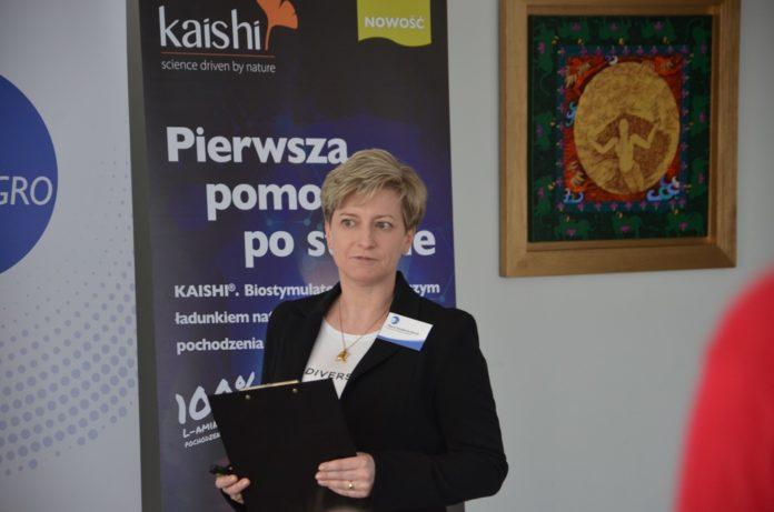 Marta Strzelecka-Berek, kierownik ds. Produktów Rolniczych Sumi Agro Poland