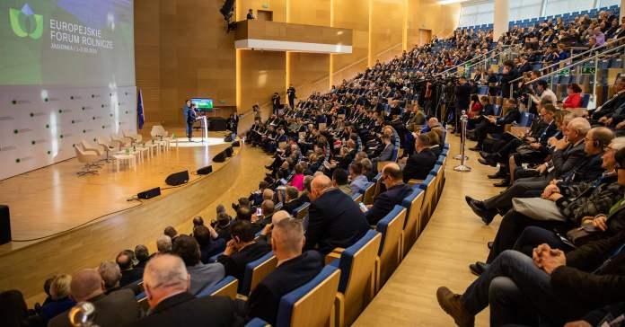 Europejskie Forum Rolnicze, rolnictwo, WPR, Janusz Wojciechowski, Wspólna Polityka Rolna