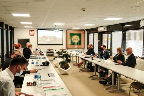 Posiedzenie Centralnej Komisji Konkursowej Ogólnokrajowego Konkursu Bezpieczne Gospodarstwo Rolne