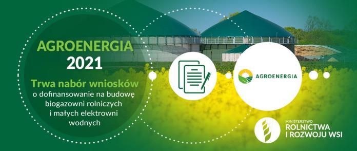 Wsparcie na budowę biogazowni rolniczych i małych elektrowni wodnych