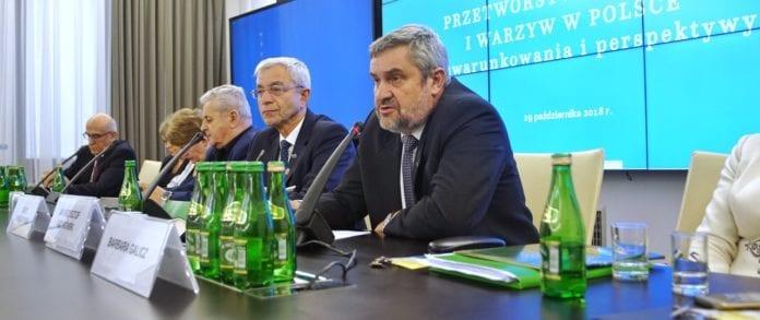 Jan Krzysztof Ardanowski, sadownicy, pomoc sadownikom, przetwórstwo, problemy sadowników, nadpodaż