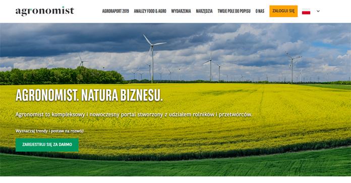 Agronomist.pl ma już dwa lata. Bank BNP Paribas stale rozwija swoją platformę dla sektora Food&Agri