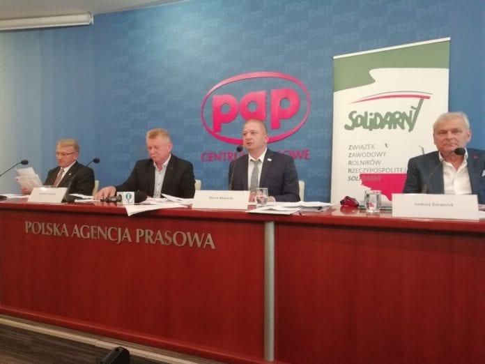 protest rolników, Marcin Bustowski, ZZR Solidarni,