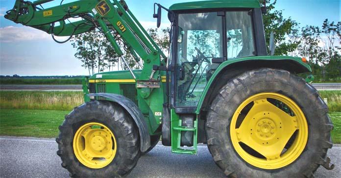 ciągnik, wypadek ciągnika, traktor