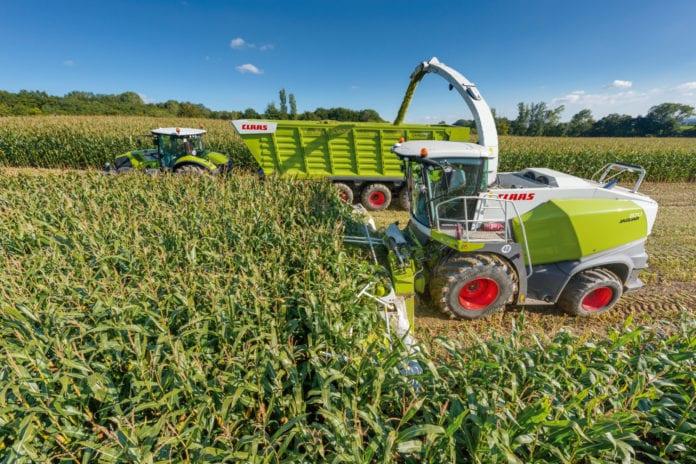 pokaz zbioru kukurydzy, CLAAS, IGP Polska, K+S Polska, Sano, kukurydza