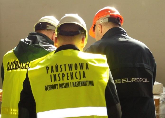 Nielegalne Pestycydy o wartości niemal 80 milionów Euro zatrzymane w ramach Silver Axe VI