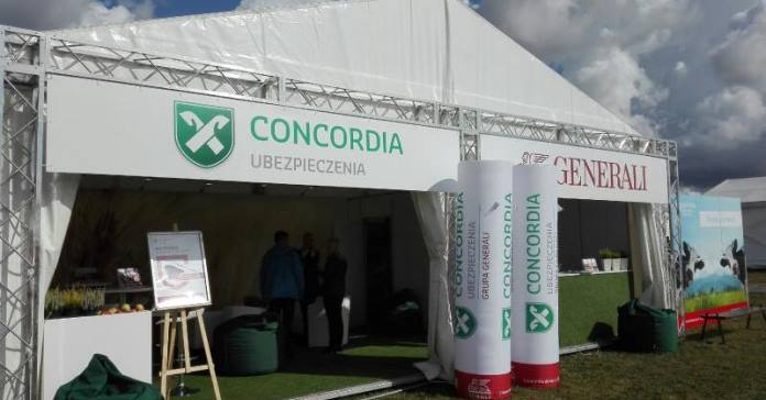 Concordia, Generali, koronawirus, rolnictwo, szpitale