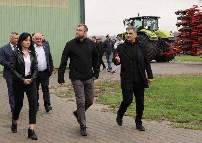 Minister Puda odwiedził kolejne gospodarstwo