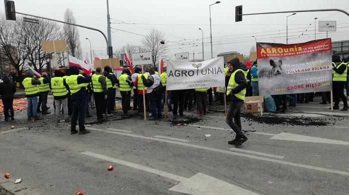 rolniik, AgroUnia, protest rolników