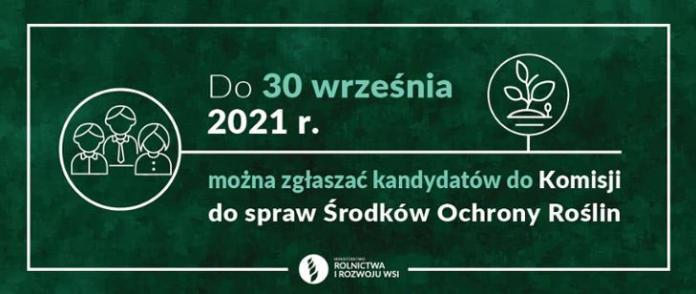 Będzie nowa Komisja do spraw Środków Ochrony Roślin