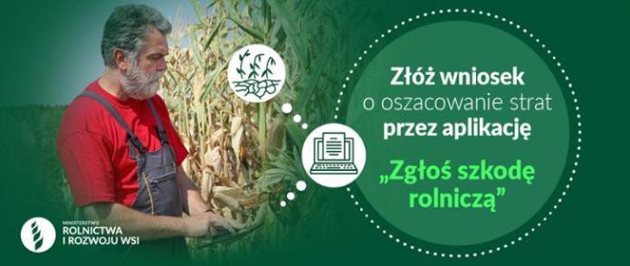 Zgłoś szkodę rolniczą – susza 2021