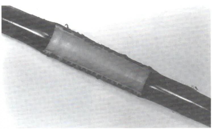 Fig. N°(8): schéma d'un goutteur intégré.  Source (Léopold RIEUL, Pierre RUELLE, 2003)