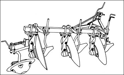Figure n° 17 : la charrue à disques (DETRAUX ; OESTGES, 1979)
