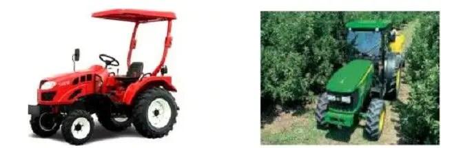 جرار البساتین ) الأماكن الضیقة ( Tracteur étroit