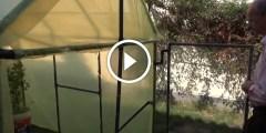 فيديو .. كيف تبني محمية زراعية صغيرة