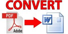 طريقة رائعة لتحويل PDF الى Word تدعم العربية وبدون برامج