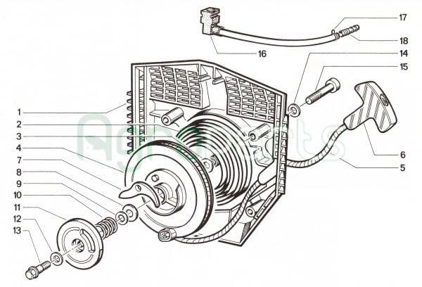 Agroparts.gr 4 Stroke Gasoline Engine Cotiemme CX 100
