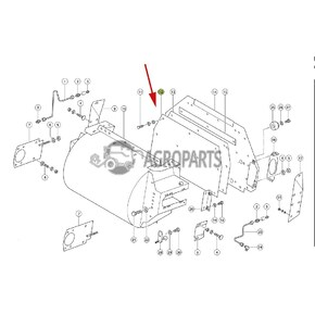 Forage Harvester Parts Claas Discharge Wear plate of Gear
