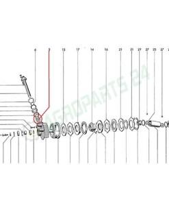 Welger Laufbuchse AP 41 AP 45 Raffer Querförderer 30 x 25 x 40 mm.