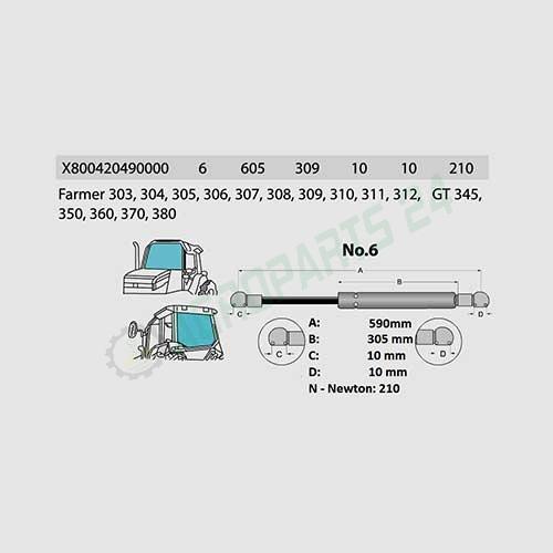 Fendt- X800420490000 2