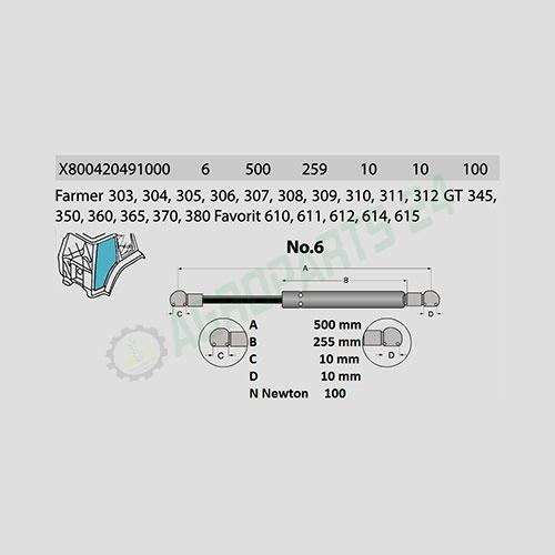 Fendt - X800420491000 2