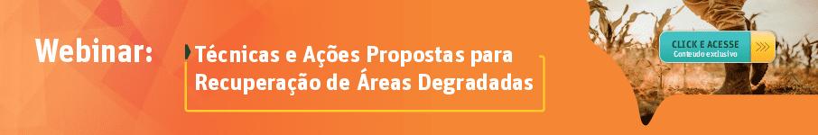 Técnicas e Ações Propostas para Recuperação de Áreas Degradadas