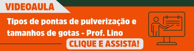 Tipos de pontas de pulverização e tamanhos de gotas - Prof. Lino