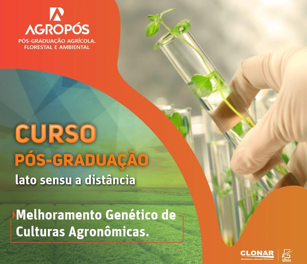 pós-grdauação em melhoramento genético agronômico